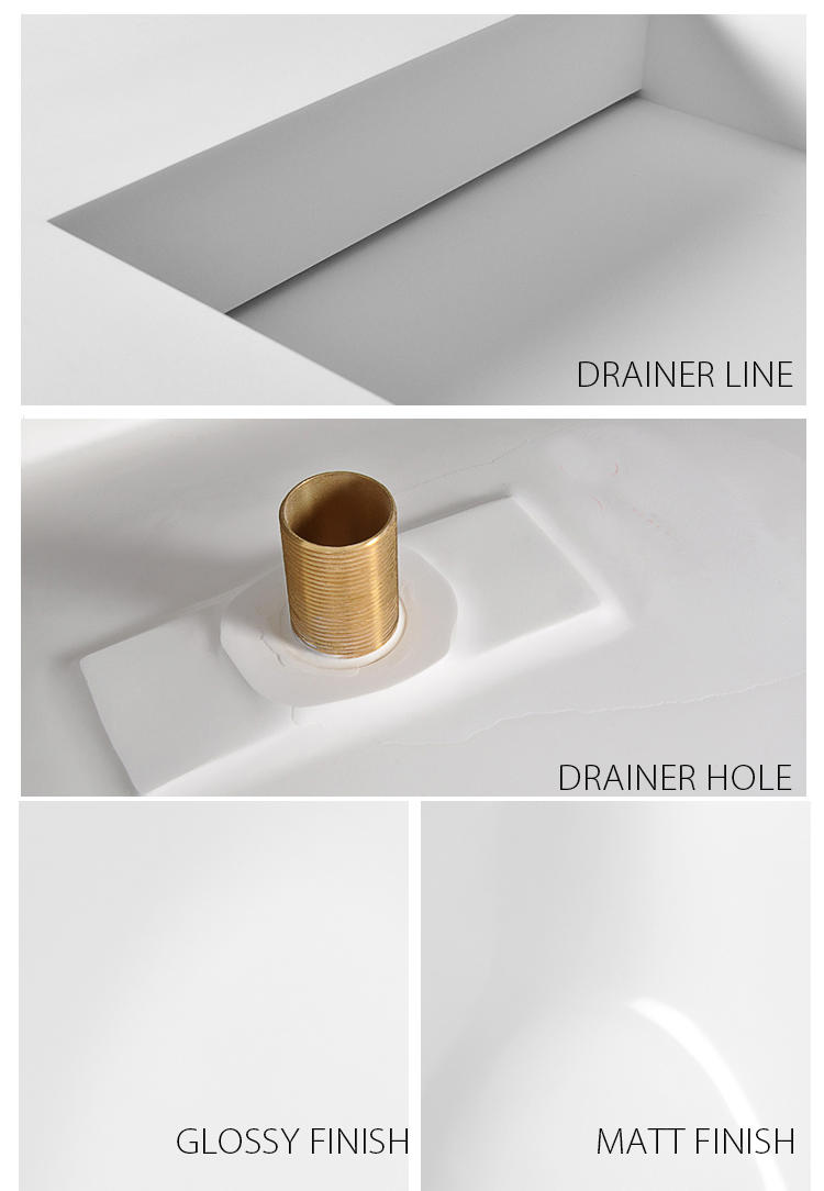 Bellissimo-Find Solid Surface Resin Stone Wall Mounted Basin Bs-8407 | Manufacture-2
