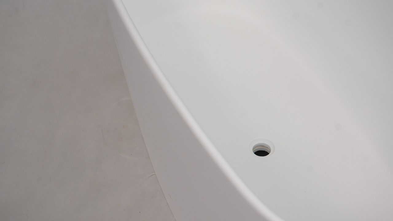 Bellissimo-Curve Edge Shaped Freestanding Solid Surface Composite Resin-1