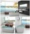 bathtub Stone tub 1500mm white Bellissimo Brand