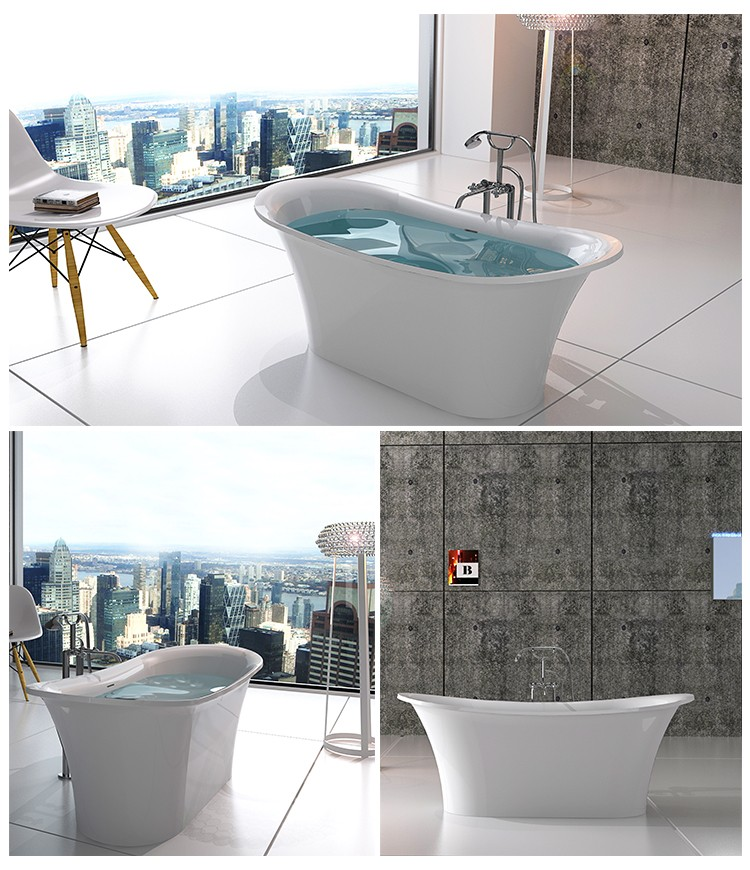 Bellissimo-Find Stone Tub solid Surface Bathtub On Bellissimo Company Limited-2