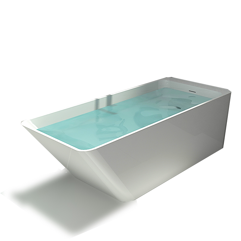 Bellissimo-Stone Bathtub Solid Surface Resin Stone Bathtub Bs-8634-1
