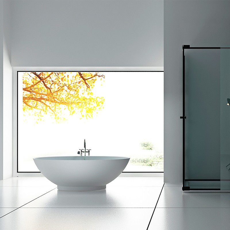 Bellissimo-Manufacturer Of Solid Surface Resin Stone Bathtub Bs-8636-2