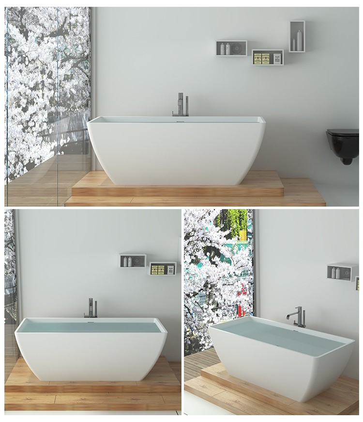 Bellissimo-Find Solid Surface Resin Stone Bathtub Bs-8641 | Manufacture-2