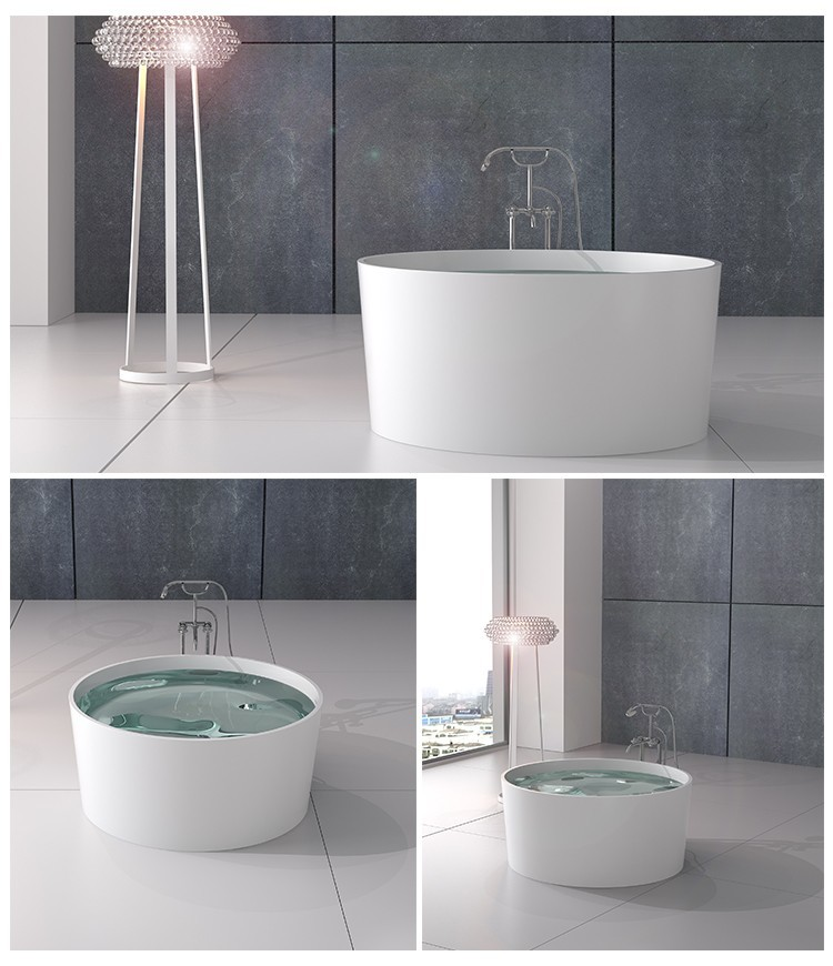 Stone tub boat red bs8616 Bellissimo Brand