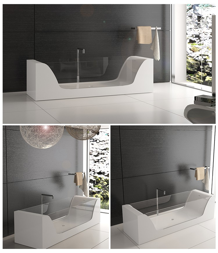 Bellissimo-Find Solid Surface Resin Stone Bathtub Bs-8647 | Manufacture-2