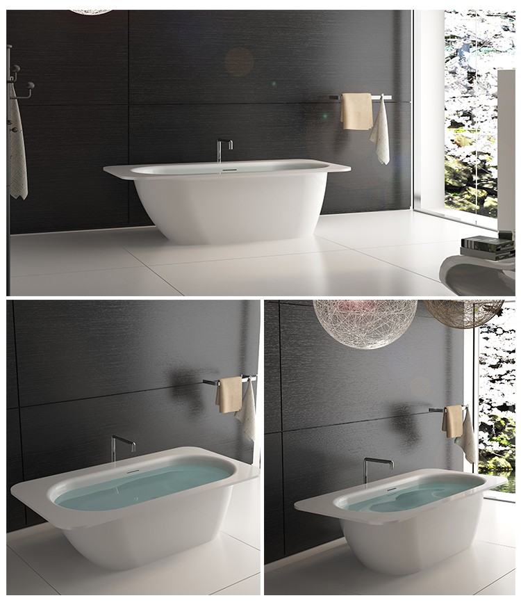 Bellissimo-Solid Surface Resin Stone Bathtub Bs-8649 | Solid Surface Bathtub-2