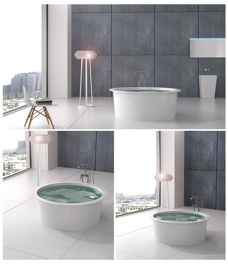 Bellissimo-Professional Best Freestanding Tubs Solid Surface Bathtub Manufacture-2