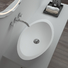 bs8347 oval surface OEM solid surface wash basin Bellissimo
