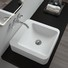 Quality Bellissimo Brand countertop basin rectangle art