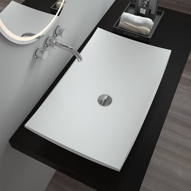 Bellissimo- Solid Surface Resin Stone Counter Top Basin Bs-8321 Supplier
