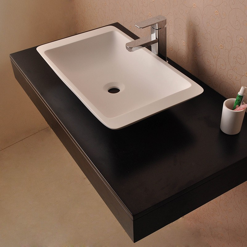 Bellissimo-Solid Surface Resin Stone Counter Top Basin Bs-8325 Manufacture