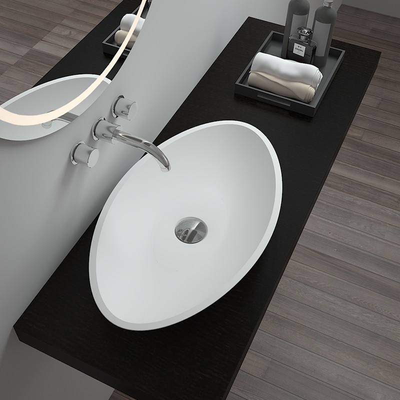 Bellissimo-Solid Surface Bathroom Sinks Solid Surface Wash Basin on Bellissimo