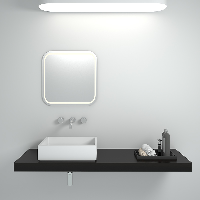 Solid surface resin stone counter top basin BS-8336