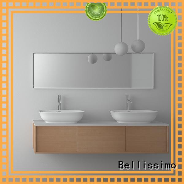 countertop bathroom edge Bellissimo Brand countertop basin manufacture