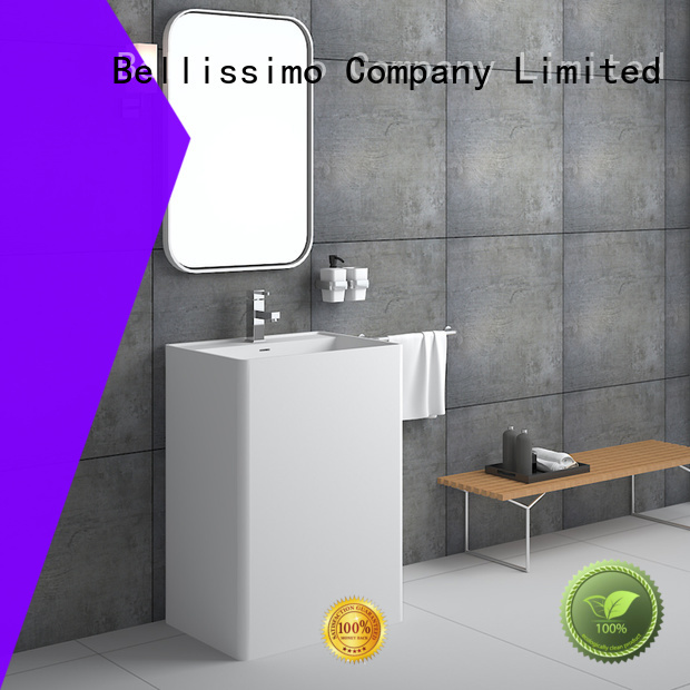 Quality Bellissimo Brand freestanding bathroom basin bs8513 lavabo