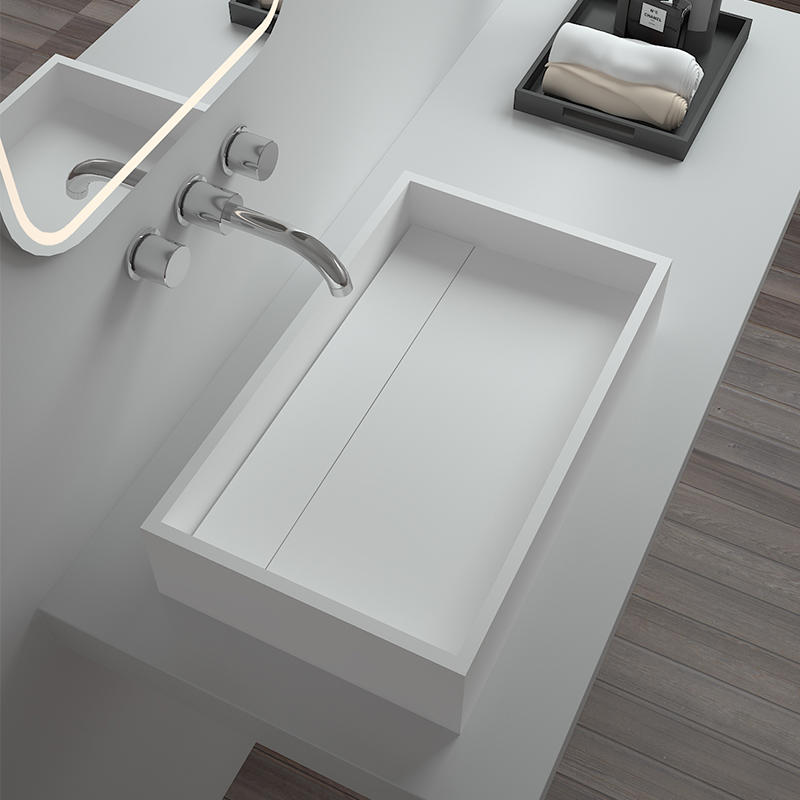 Bellissimo-Find Solid Surface Resin Stone Counter Top Basin Bs-8317 | Manufacture