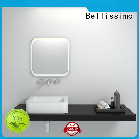 style modern countertop solid surface wash basin Bellissimo