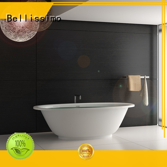 Stone tub bs8600 bs8612 solid Bellissimo Brand company