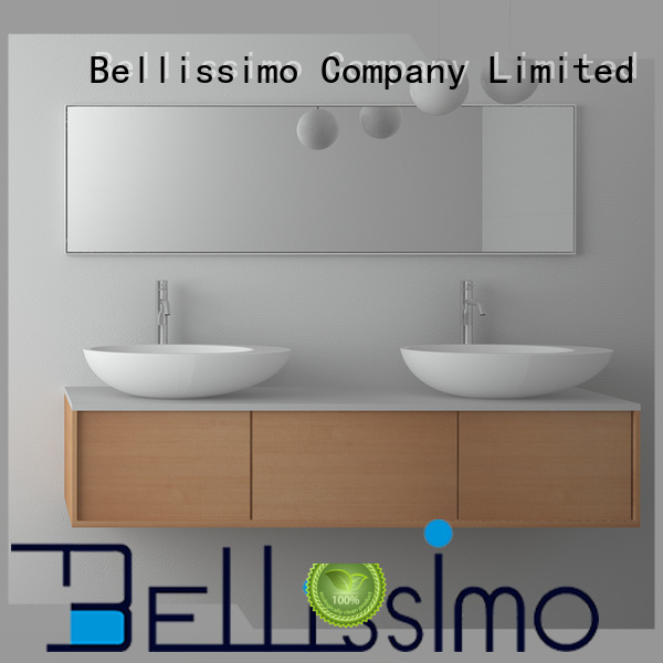 Solid surface resin stone counter top basin BS-8339