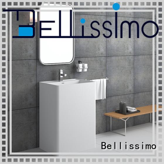 modern cloakroom basin cast for hotel