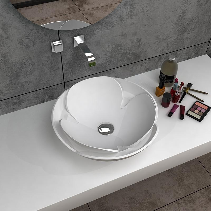 Bellissimo-Find Solid Surface Bathroom Sinks And Countertops Solid Surface Countertop