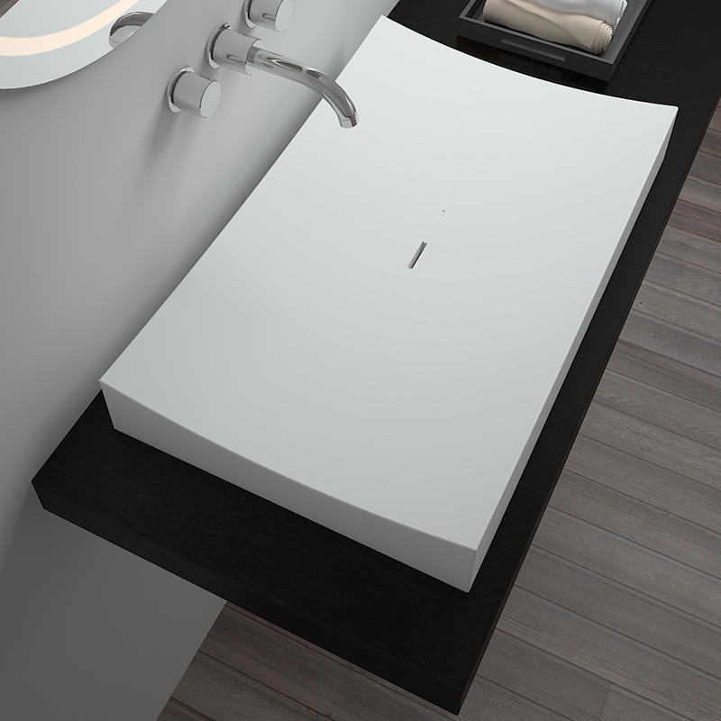 Bellissimo-Best Solid Surface Resin Stone Counter Top Basin Bs-8309 Manufacture
