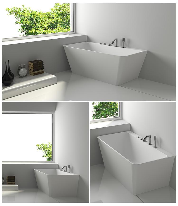 Bellissimo-Solid Surface Resin Stone Bathtub Bs-8648 - Bellissimo Company Limited-2