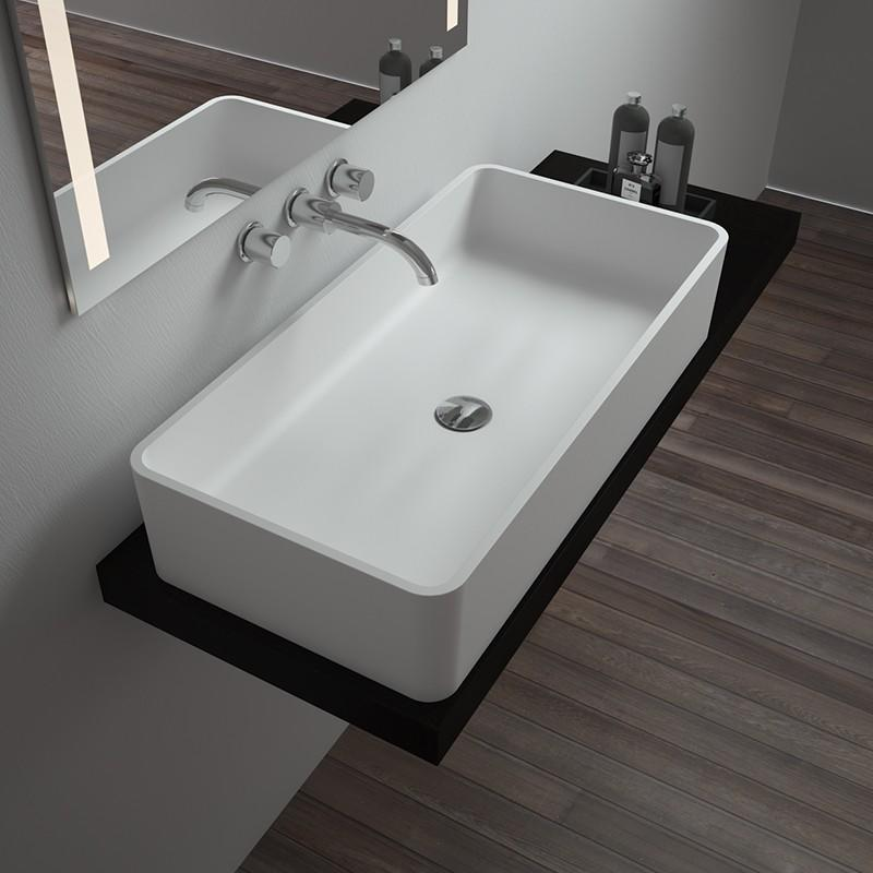 Bellissimo-Manufacturer Of Solid Surface Resin Stone Counter Top Basin Bs-8340b