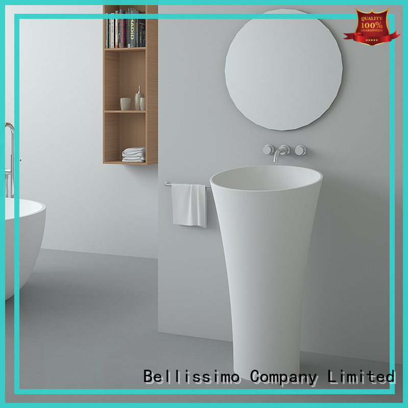 Bellissimo commercial free standing sink cast for villa