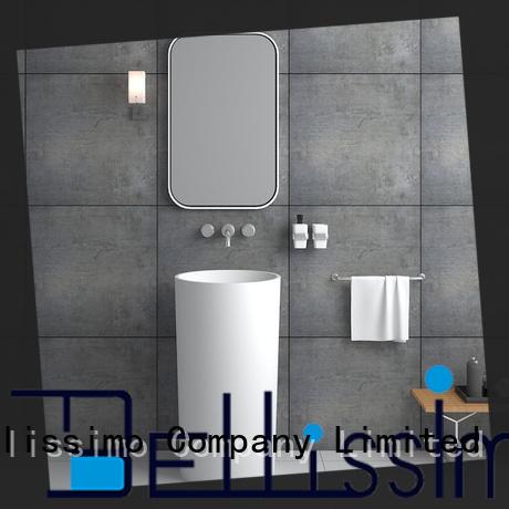 Bellissimo free standing wash basin customization for bathroom