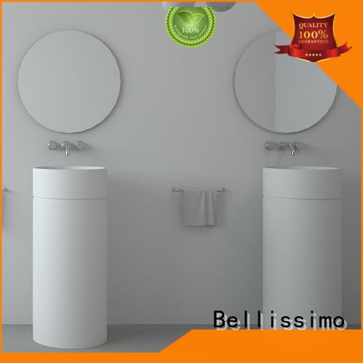stone bathrom bs8512 freestanding bathroom basin Bellissimo manufacture