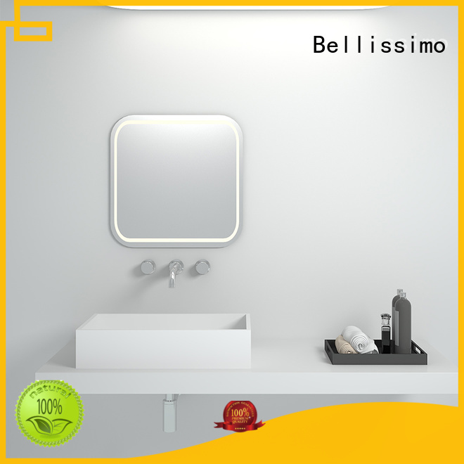 art edge bs8345 solid surface wash basin boat Bellissimo Brand