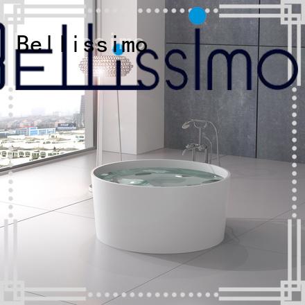 Bellissimo resin stone egg shaped bathtubs bath wholesale