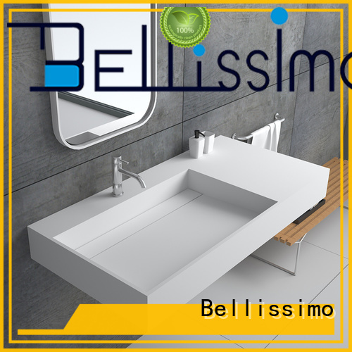 Bellissimo modern small wall mount sink manufacturer for bathroom