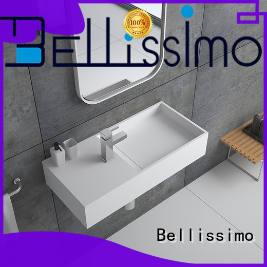 Bellissimo wall mounted wash basins supplier for bathroom