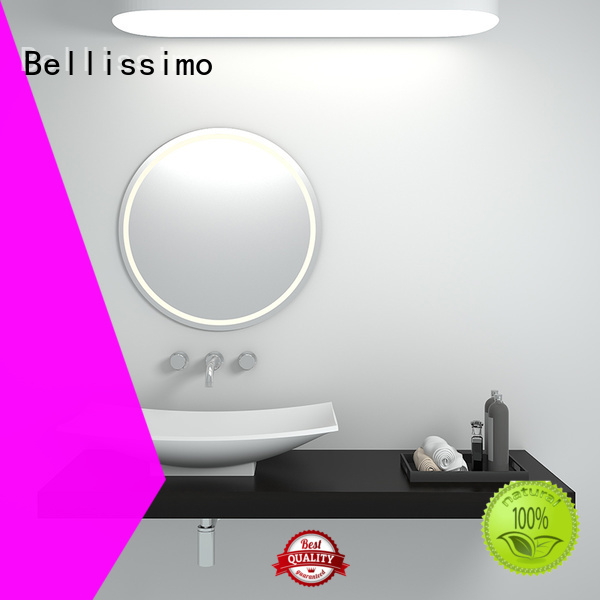 countertop basin bs8345 shape solid surface wash basin Bellissimo Brand