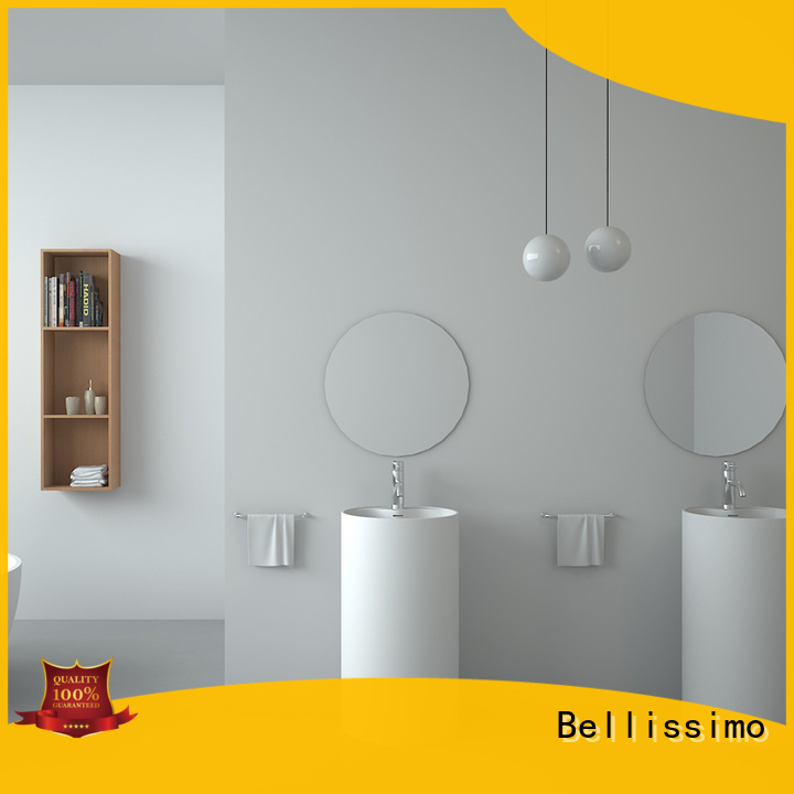 Bellissimo solid surface basin wholesale for hotel