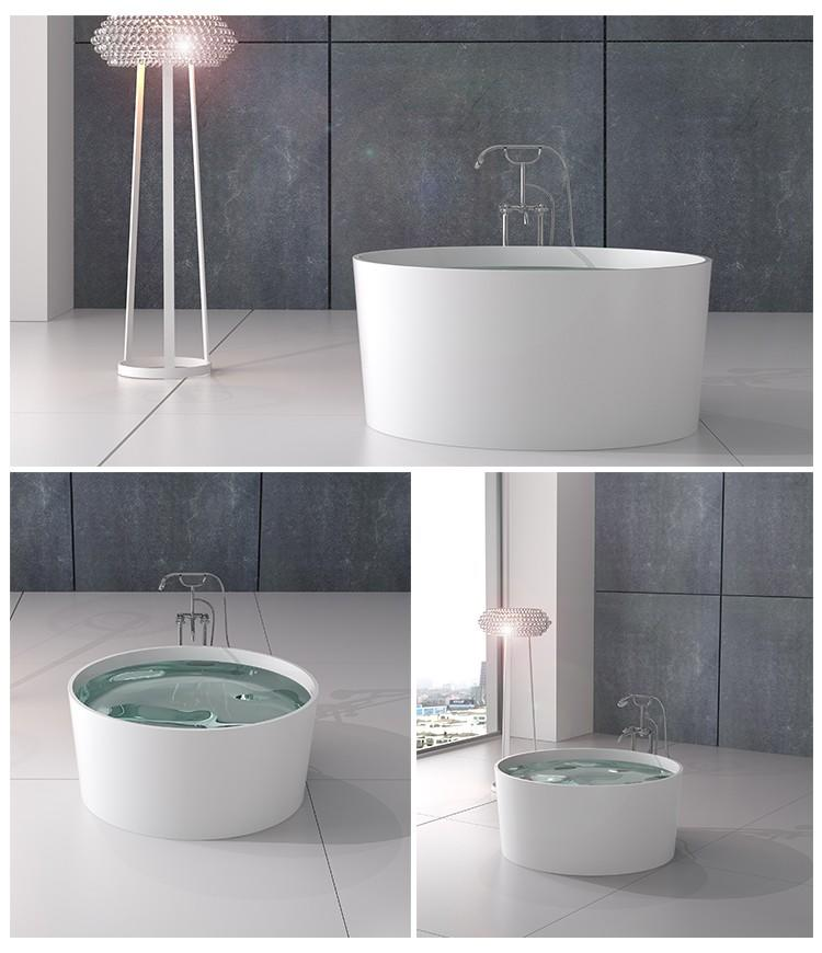 Bellissimo-Solid Surface Resin Stone Bathtub Bs-8642 - Bellissimo Company Limited-2