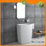 freestanding bathroom basin bs8514 free standing sink Bellissimo Brand