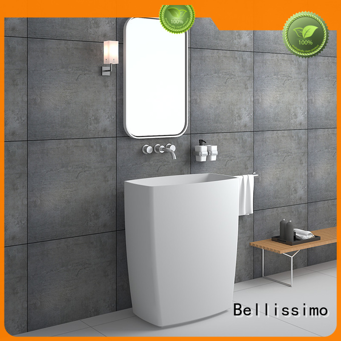 Stand Alone Bathroom Sink Size