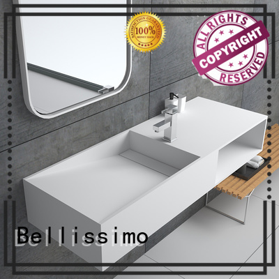 Quality Bellissimo Brand yacht mounted wall mounted wash basins