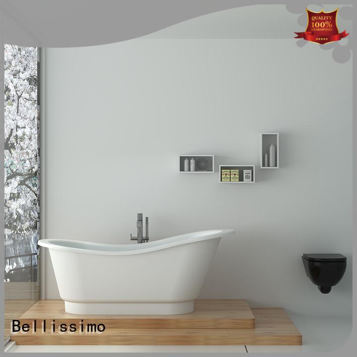 Bellissimo boat shaped bathtub factory design for hotel