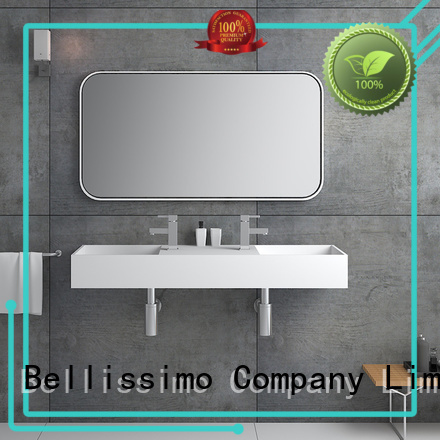 Bellissimo Brand surface wall mounted wash basins sink factory
