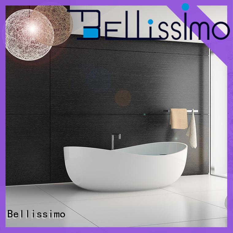 Bellissimo oval shaped bathtubs bath for hotel