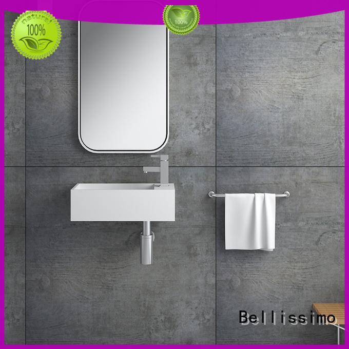 8424 wash bathroom wall mounted wash basins Bellissimo