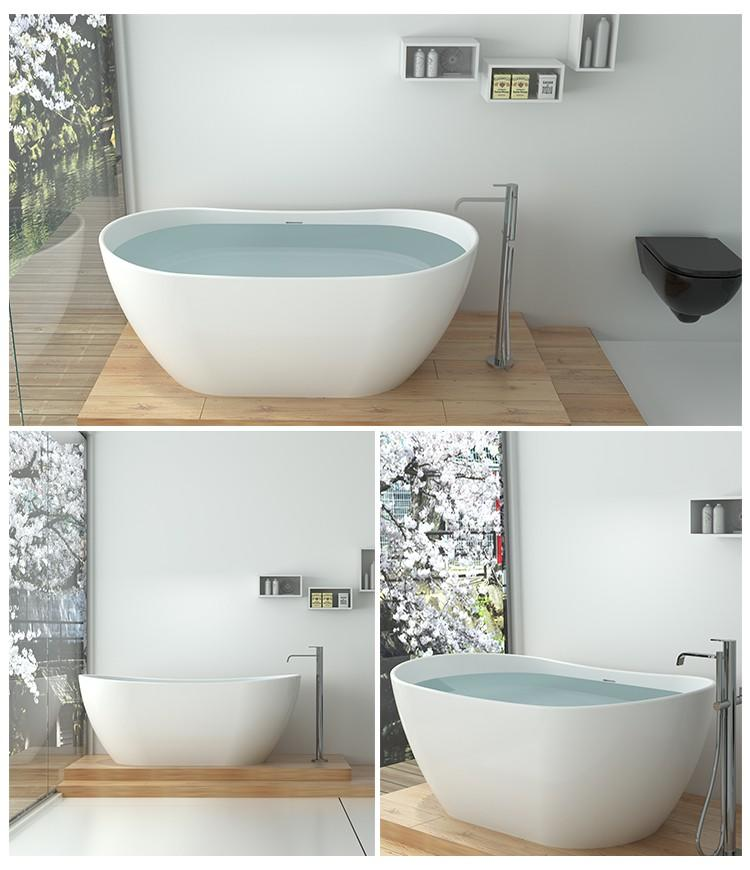 Bellissimo-Manufacturer Of Solid Surface Resin Stone Bathtub Bs-8633-2