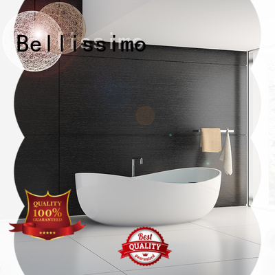 Bellissimo best bath with special skirt stone for bathroom