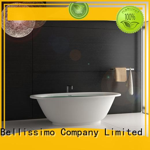 Hot Stone tub acrylic Bellissimo Brand