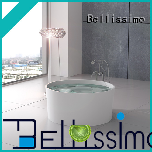 Bellissimo artificial bathtub parts with special skirt stone for sale