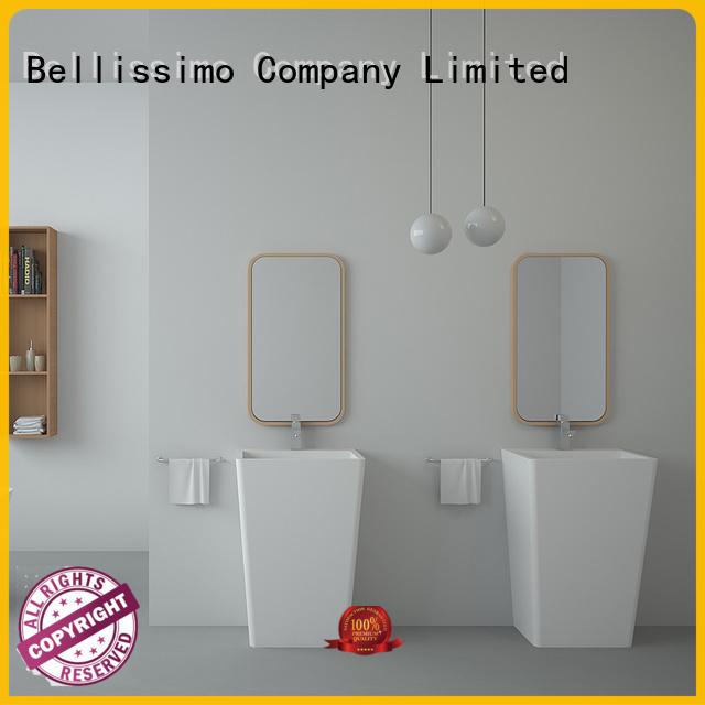 Bellissimo Brand double sink freestanding bathroom basin bathroom